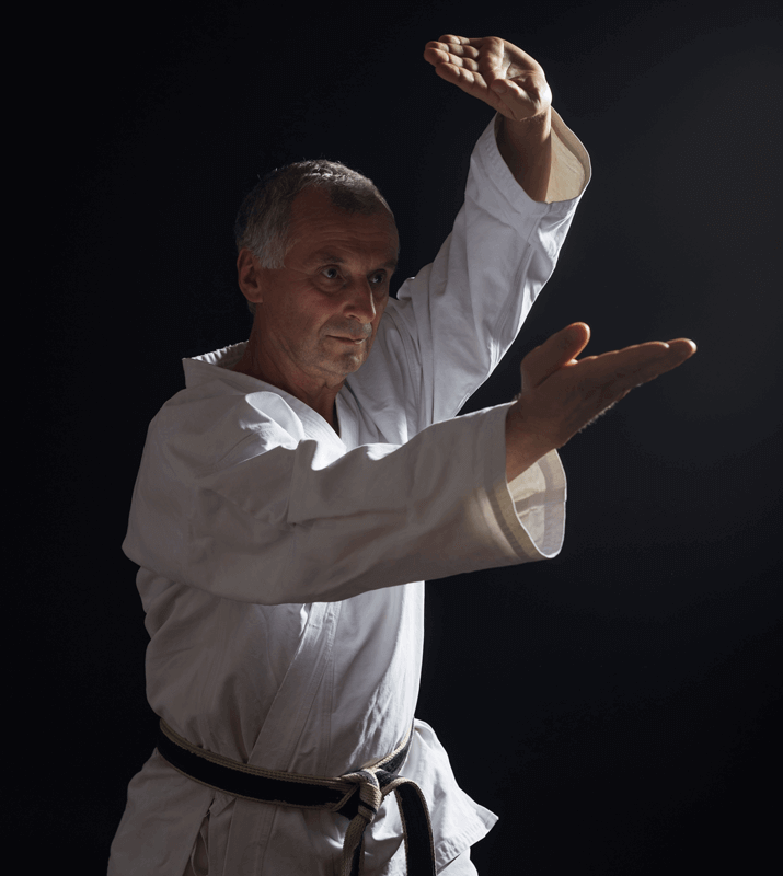 Martial Arts Lessons for Adults in Kansas City MO - Older Man