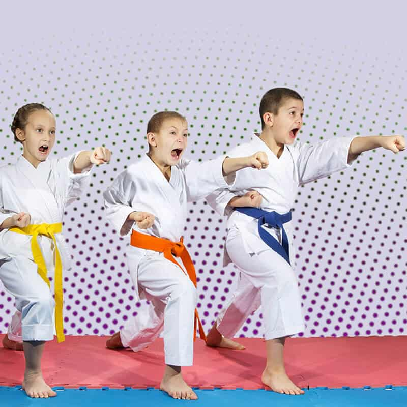 Martial Arts Lessons for Kids in Kansas City MO - Punching Focus Kids Sync