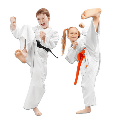 Martial Arts Lessons for Kids in Kansas City MO - Kicks High Kicking Together