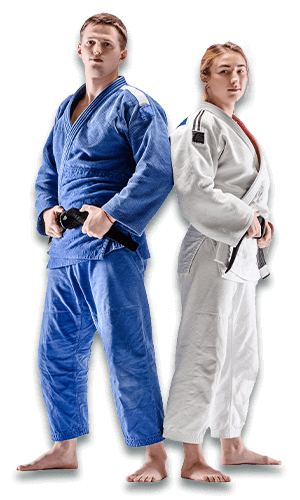 Brazilian Jiu Jitsu Lessons for Adults in Kansas City MO - BJJ Man and Woman Banner Page