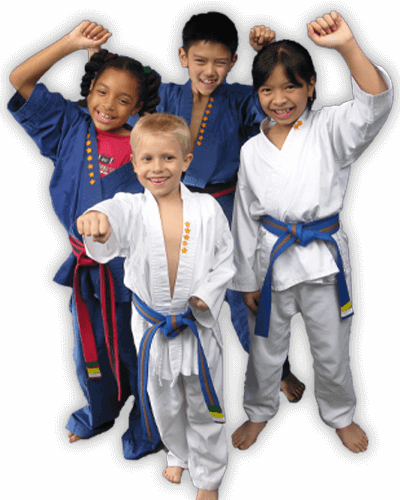 Martial Arts Summer Camp for Kids in Kansas City MO - Happy Group of Kids Banner Summer Camp Page
